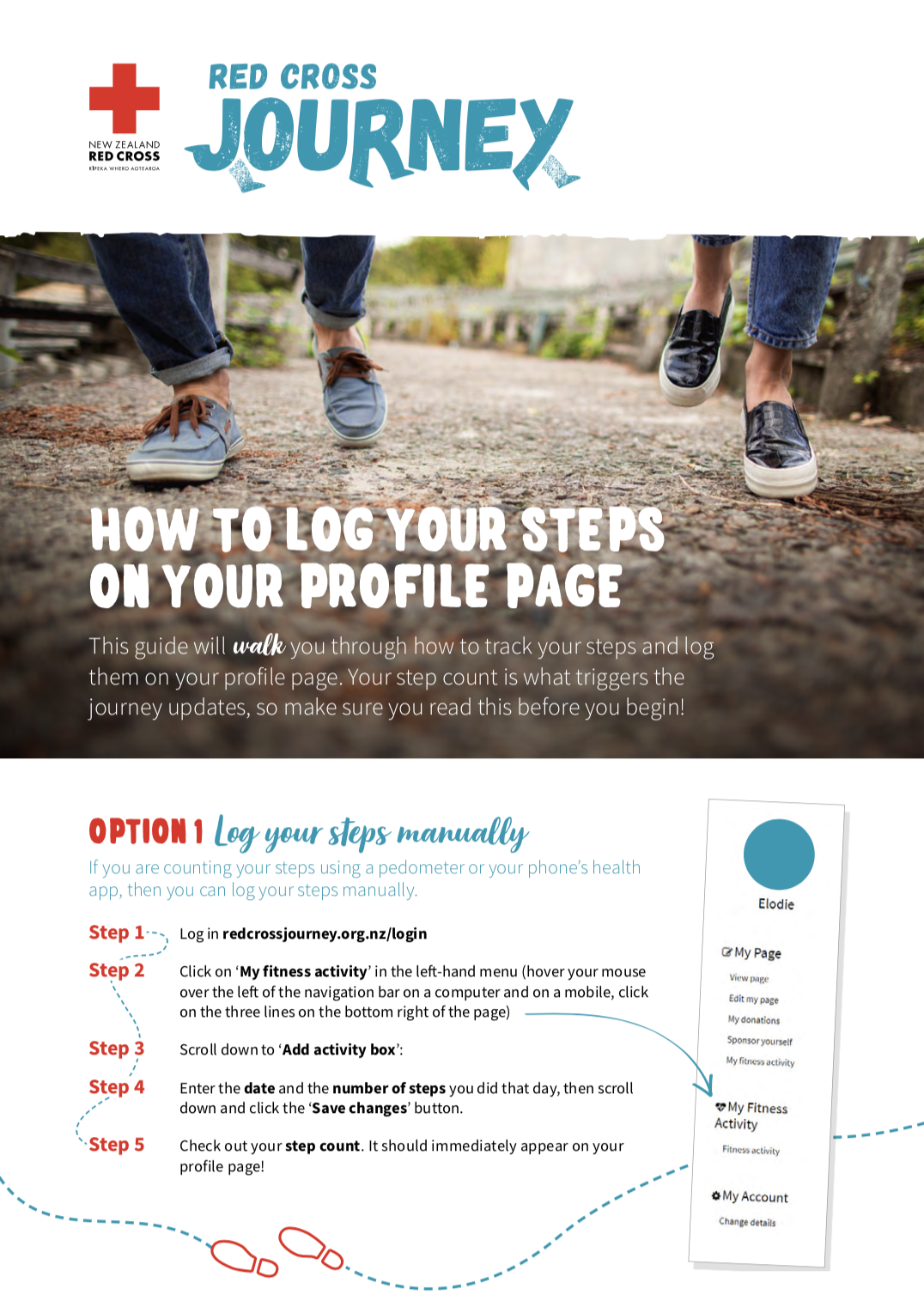 Guide to your steps
